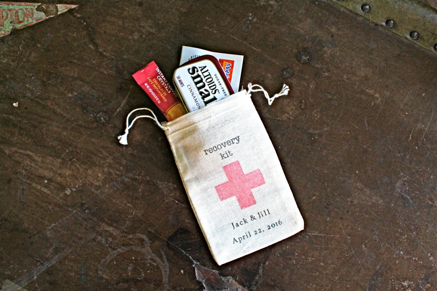 Personalized Recovery Kit Favor Bags Set Of 25 Diy Recovery