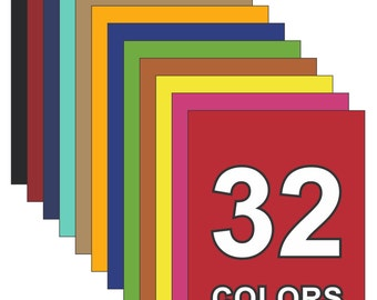 Magnetic Sheeting in 32 Colors - 8.5 x 11 in.