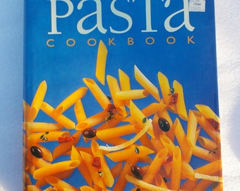 The Essential Pasta Cookbook hardcover large everything pasta cookbook