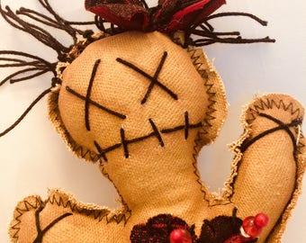Voodoo Doll, gothic dolls, grunge dolls, Handmade Doll, creepy dolls, primitive dolls, stuffed dolls, art dolls, rag dolls, Halloween dolls,