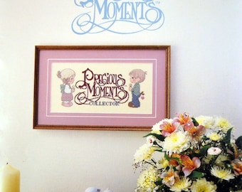 Precious Moments  Cross Stitch Patterns By Gloria & Pat First Printing Collector