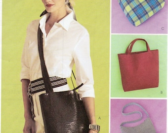 OVERSTOCK Sale! McCall's Fashion Accessories Pattern 3551 LADIES BAGS