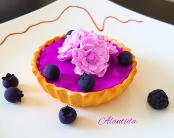Realistic Tart Fake Tart  Faux Cupcake for Kitchen Decor Shower Favour Display Dessert