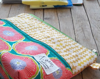 Bag organizer-bag with zipper-pouch with hinges-change bag-women's gift Idea