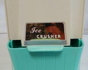 Vintage Proctor Silex Ice Crusher - Vintage Barware