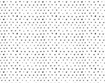 Dear Stella Hearts by Wee Gallery Collection - 1/2 Yard