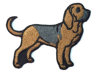 Bloodhound Iron on Patch No Name