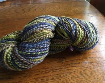 Organic Polwarth Handspun yarn