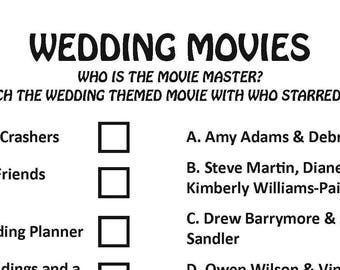 Bridal Shower Jeopardy DIGITAL DOWNLOAD Trivia Game Wedding