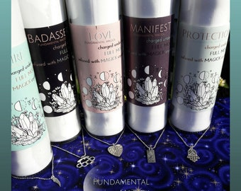 Crystal Spellwork Candles