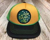 "Toddler Trucker Hat with ""Friend to Bugs"" Pat..."
