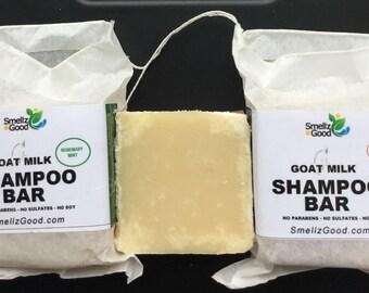Goat Milk Shampoo Bar
