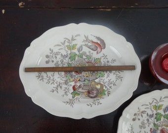 Royal Doulton Hampshire serving platter D6141 original drawing by Cutts Circa 1840
