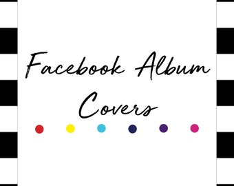 Color Street Facebook Album Covers | Digital Download