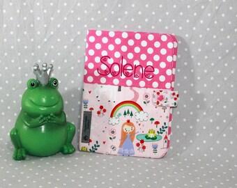 Customizable health book theme Princess and frog