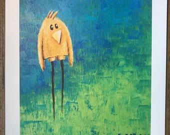 Yellowbird Art Print