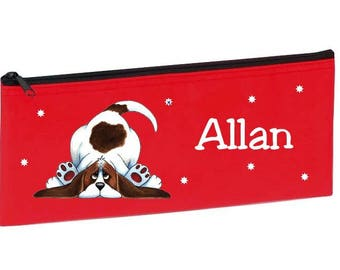 Red Dog personalized with name package