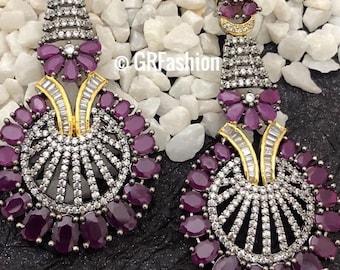 Beautiful high quality oxidize earrings
