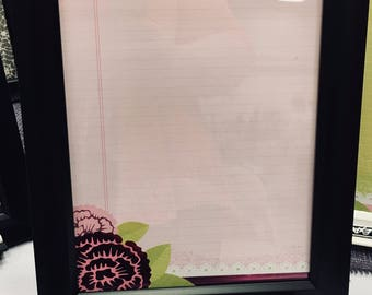 Dry Erase Memo Frame