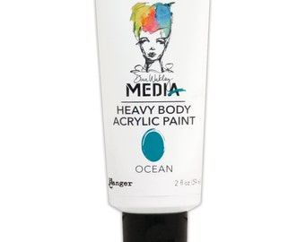 Dina Wakley Media Heavy Body Acrylic Paints - Ocean