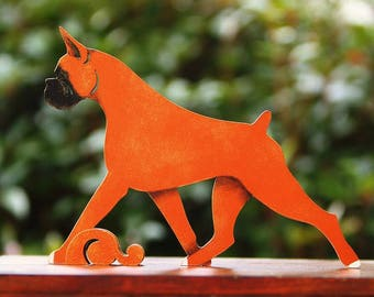 25% OFF Running Boxer SOLID FAWN figurine