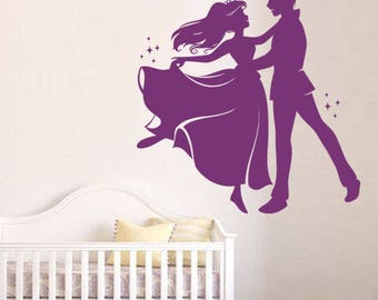 """""""Princess and her Prince to prom"""" decal"""