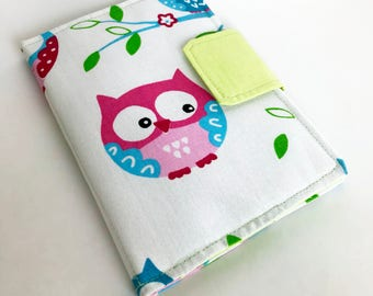 E-reader Case, Kindle Paperwhite Case, Kindle cover, E-book Reader Cover, E-reader case, Owls