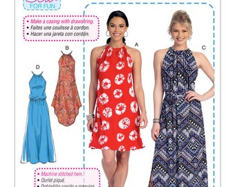 Dress by McCall's M7405 sewing pattern