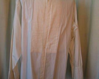 1960's Formal Tuxedo  Shirt