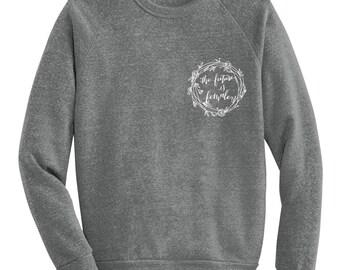 The Future is Female Sweatshirt - White Emblem