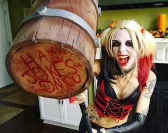 Harley Quinn inspired cosplay