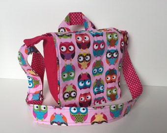 children's bag (S) 'Funky Owls'