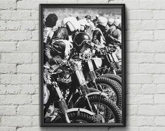 STEVE MCQUEEN - Garage workshop Limited Edition - Vintage poster
