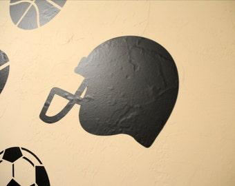 Football Helmet - Wall Decal