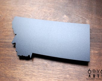 Montana State Chalkboard Magnet | Small Chalkboard | State Shapes | Gifts From Home | Rocky Mountains