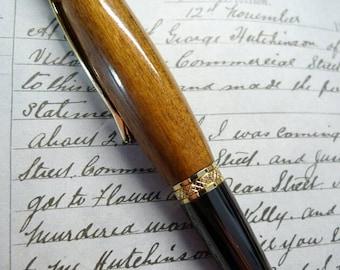 Hand Turned Wooden Sierra Style Pen