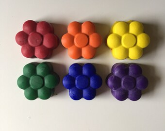 Flower Crayons- Set of 6