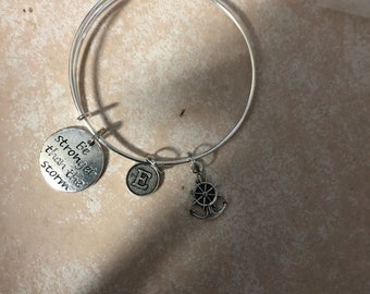 Be stronger than the storm bangle