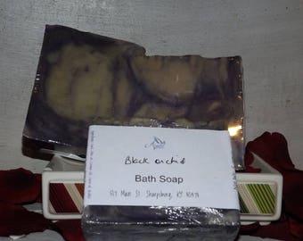 Black Orchid bath soap