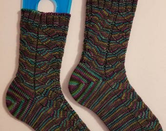 Ladies Knit Socks