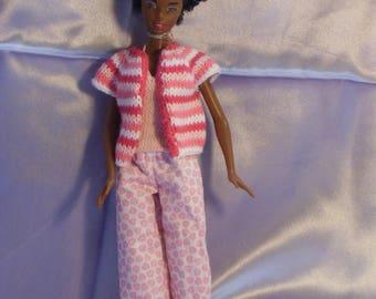 8 Pajamas for barbie type dolls