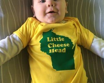 Little Cheesehead bodysuit