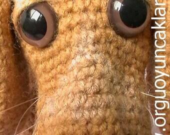 Amigurumi 8 inc Dog Pattern