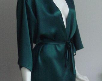 100% Silk Robe