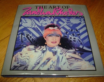 Zandra RHODES-The Art Of Sandra Rhodes-SIGNED-1Sst-1984-hb-vg-Jonathan Cape-Very Rare-What An INVESTMENT