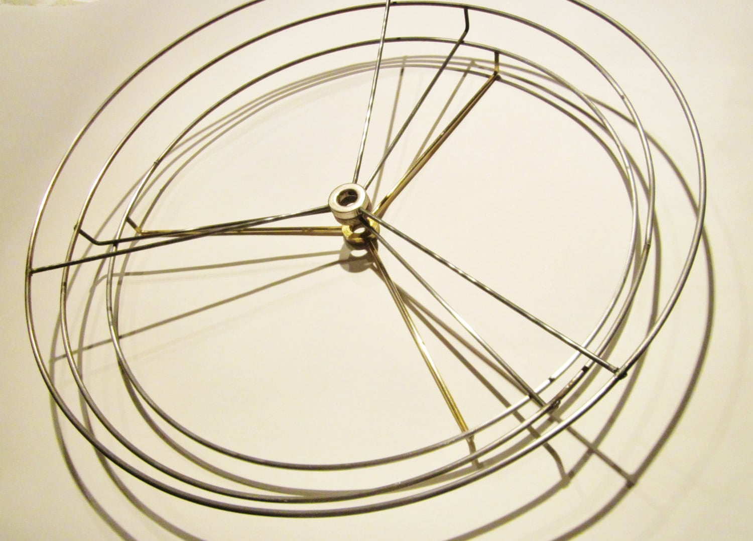 Wire lampshade rings wire center lamp shade hardware diy drum lamp shade washer top fitting lamp rh etsystudio com lampshade wire rings uk square lamp shade wire rings greentooth Gallery