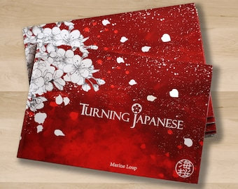 """Illustrations Book """"Turning Japanese"""" 92 Pages"""