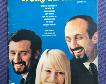 1963 Peter, Paul & Mary, A Song will Rise, Vintage Music Book