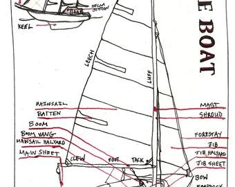 Sailing Knot Card Set