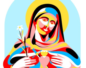 Nuestra Señora de Guadalupe - Our Lady of Guadalupe Print